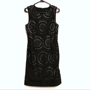 WHBM Sleeveless Black Dress(Size 8)